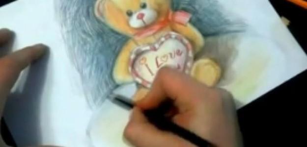 Как научиться рисовать медведя?